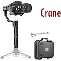Zhiyun Crane V2 3-Axis Handheld Gimbal Stabilizer for DSLR Mirrorless Cameras up to 3.96 lbs, i.e. Canon M, Sony A7, Nikon J,Panasonic Lumix (Updated Version)