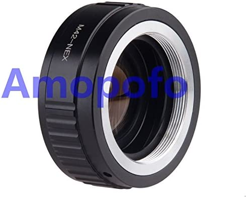 Amopofo Focal Reducer Speed Booster Adapter Nikon F Mount G Lens to Sony NEX E A5100