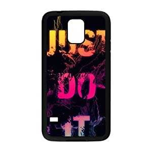 Just do it Colorful unique pattern Cell Phone Case for Samsung Galaxy S5