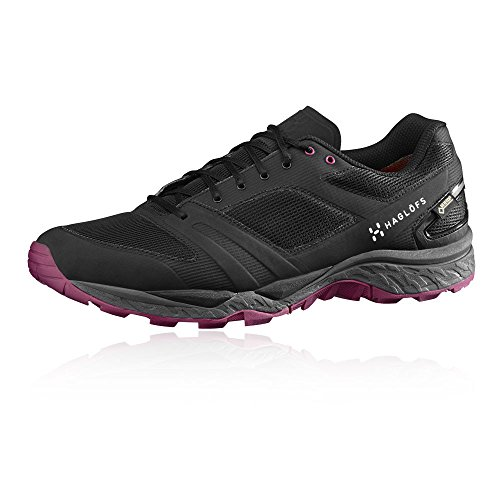 Haglofs Gram Gravel Womens Gore-TEX Trail Running Shoes Black rQWfk5