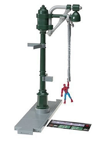 Toy Biz Spider-Man Classic Stunt System Expansion Set: Web Slinging Street Light