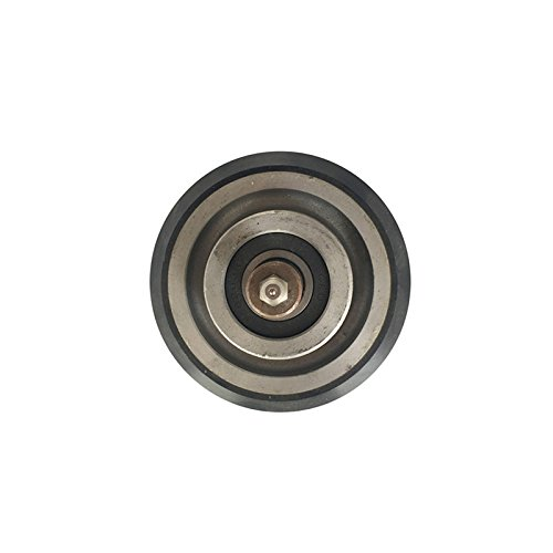 20pcs/Pack, Elevator guide shoe roller OD:95mm thickness:25mm bearing:6203 Black by BIMORE
