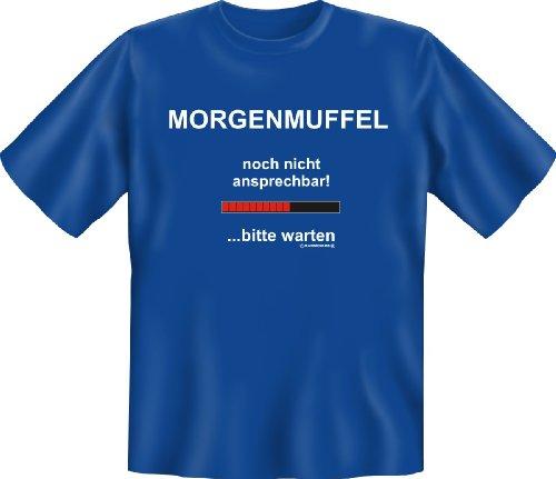 T-Shirt - Morgenmuffel - Lustiges Sprüche Shirt als Geschenk für Leute mit Humor