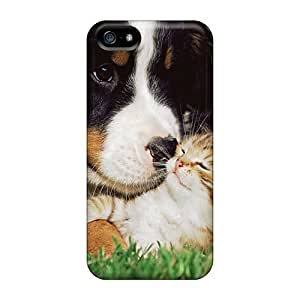 High Quality JbmVz3483lsXHs Dog Cat Friendship Tpu Case For Iphone 5/5s