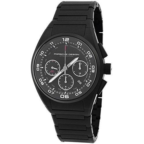 Porsche Design Dashboard Chronograph Automatic Black PVD Titanium Mens Watch Calendar 6620.13.46.0269