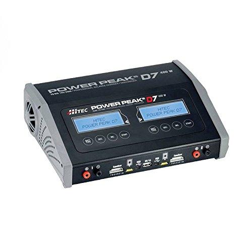 Hitech RCD 44249 Power Peak D7 400 W AC/DC Dual Balance Charger/Discharger