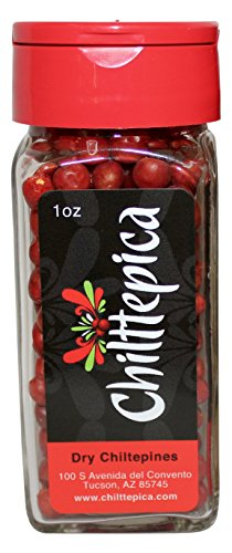 Chilttepica Chiltepin Peppers, 1 oz