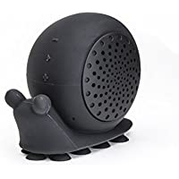 On Hand Creature Speaker, 'Biggie Snails' Black Snail Shower