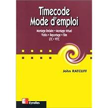 TIMECODE MODE D'EMPLOI