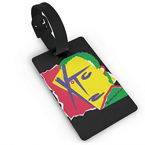 (Luggage Tags Holders for Travel Luggage,Luggage Tags for Suitcases, XTC - Drums and Wires Luggage Tags, Bag Tag Travel ID Labels Tag for Baggage Suitcases Bags)