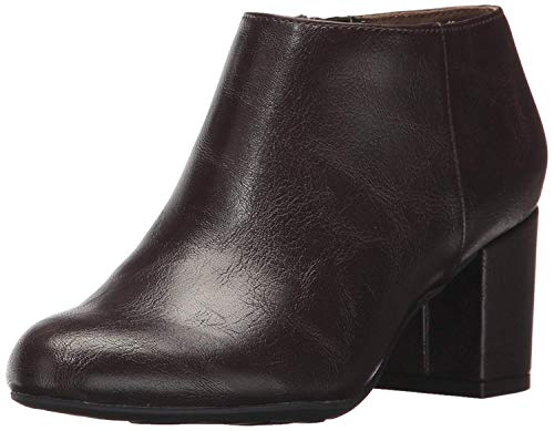 - LifeStride Women's Parigi Ankle Bootie, Chocolate, 11 M US