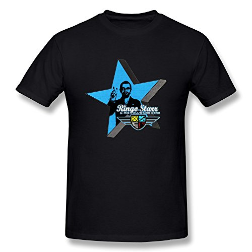 Hsuail Men's Ringo Starr And His All Starr Band T-Shirt