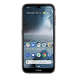"Nokia 4.2 - Android One (Pie) - 32 GB - 13+2 MP Dual Camera - Dual SIM Unlocked Smartphone (AT&T/T-Mobile/MetroPCS/Cricket/H2O) - 5.71"" HD+ Screen - Black - U.S. Warranty"
