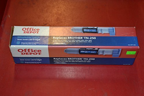 Office Depot(R) Brand R-BRO-TN250 (Brother TN-250) Remanufactured Black Toner Cartridge