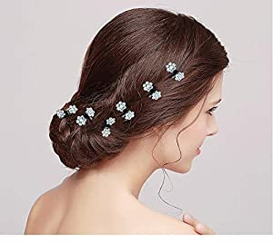 90 Pieces Baby Girls Hair Claw Clips Crystal Rhinestones Tiny Hair Clips Mix Colored Flower Hair Bangs Pin for Kids Women Hair Accessories (6 X15 Colors) (Color: Hair Claw, Tamaño: One Size)
