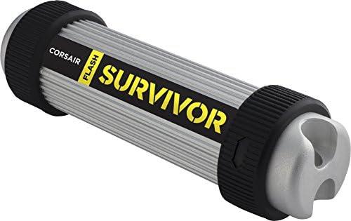 Corsair Flash Survivor Stealth 128GB USB 3.0 Flash Drive
