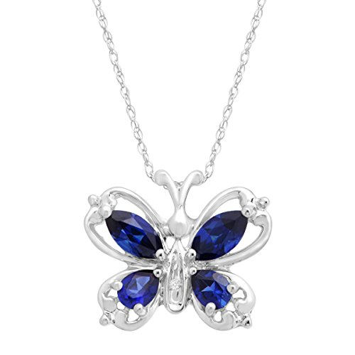 1-ct-created-sapphire-butterfly-pendant-necklace-with-diamond-in-10k-white-gold
