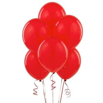 BWS 100 Globos Gigantes Rojos para Cumpleaños y Comunión ...