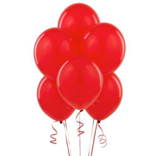 BWS conf. 100Ballons Latex 12/30cm, Couleur Rouge, rr12p05