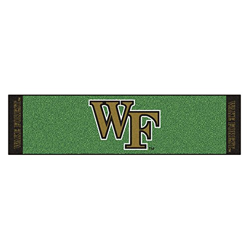 - NCAA Wake Forest University Demon Deacons Putting Green Mat Golf Accessory
