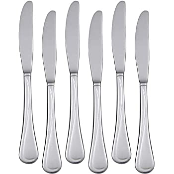 Amazon.com: Hiware – 12 cuchillos de acero inoxidable para ...