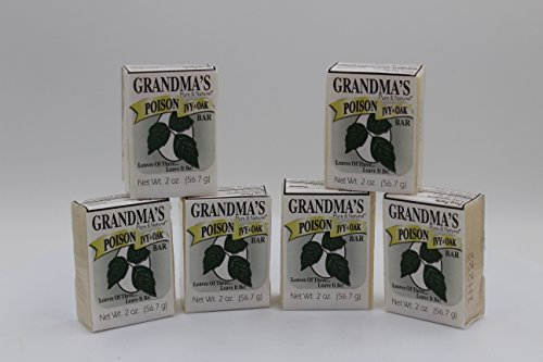 Grandma's Poison Ivy Bar 2oz. (6)
