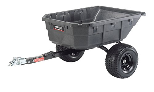 Ohio Steel 4048PSATV Poly ATV Cart with Swivel Dump, 12.5 cu. ft.