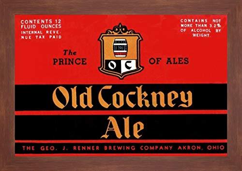 - Old Cockney Ale by Vintage Booze Labels - 17
