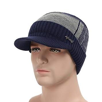 13bd5662062 HOKUGA  2018 Winter Hats For Men Skullies Beanie Hat Winter Cap Men Women  Wool Scarf