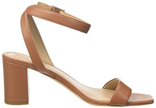 Guess Footwear Dress, Sandali con Cinturino alla Caviglia Donna Marrone (Medium Brown)