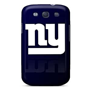 Scratch Protection Hard Phone Case For Samsung Galaxy S3 With Allow Personal Design High-definition New York Giants Pattern JamesKrisky