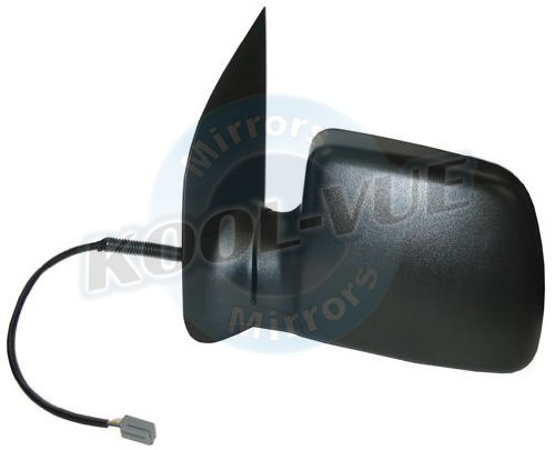 Discount Starter and Alternator 1881PL Ford E-Series Vans Driver Side Replacement Mirror Power Non-Heated Manual (Van Power Heated Mirror)
