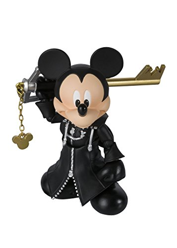 Tamashii Nations Bandai S.H.Figuarts King Mickey Kingdom Hearts II (Amazon Exclusive) Action Figure