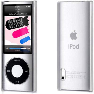 HD Accessory Crystal Shield Case for 5th Generation iPod Nano 5G - Clear