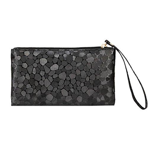 Change Zipper Phone Stone Zero Purse Fashion Bags Lively Texture Women Paymenow Clutch Coins Black Wallet Key x7BzwqvYI