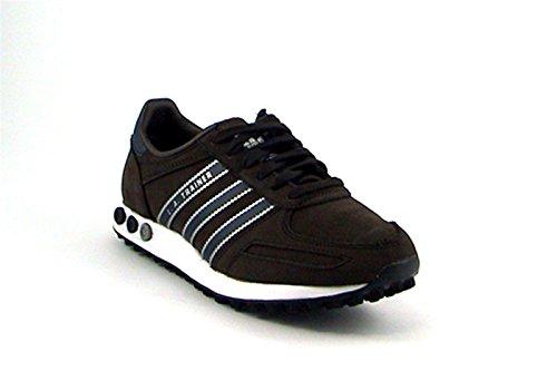 Marrone adidas La Unisex Blu Sneakers Trainer r1IzxO1