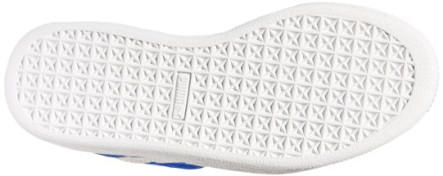 Suede Classic 2-Strap Sneaker, Snorkel Blue / White, 9 M US Toddler