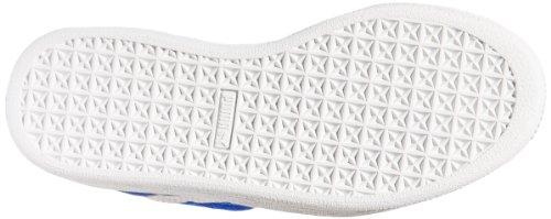 Puma Kids Suede 2 Straps Sneaker Snorkel Blue/White