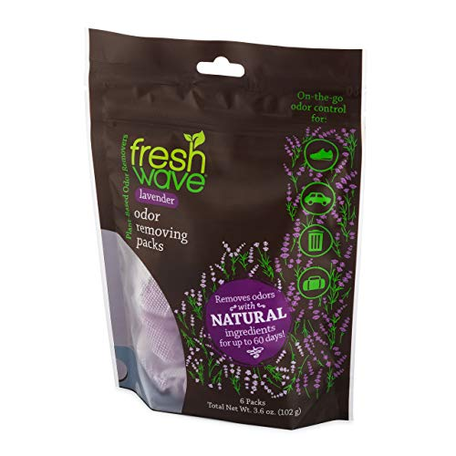 Fresh Wave Lavender Odor Removing Packs, Bag of 6