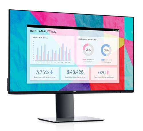 DELL UltraSharp U2419H-WOST Pantalla para PC 60,5 cm (23.8') Full HD LED Plana Mate Plata - Monitor (60,5 cm (23.8'), 1920 x 1080 Pixeles, Full HD, LED, 8 ms, Plata) 5 cm (23.8) Full HD LED Plana Mate Plata - Monitor (60 Dell Computers DELL-U2419HWOS