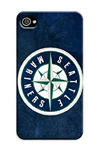 Mlb Seattle Mariners Cover Tpu Case For Iphone 4/4S