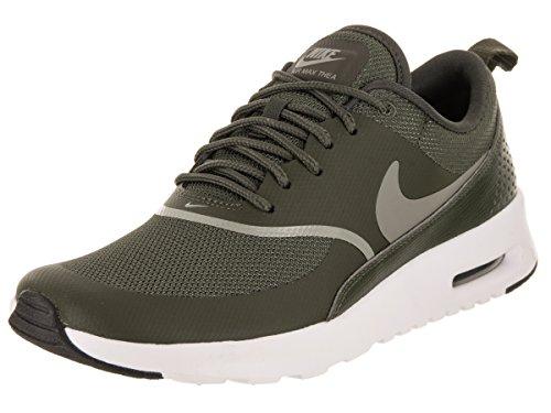 Ny Nike Air Max Thea Running Shoe Cargo Khaki Dark Stucco