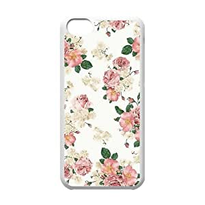 Customize Floral Hard Case for Iphone 5C