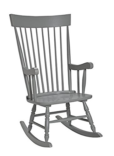 Gift Mark Adult Rocking Chair, Grey