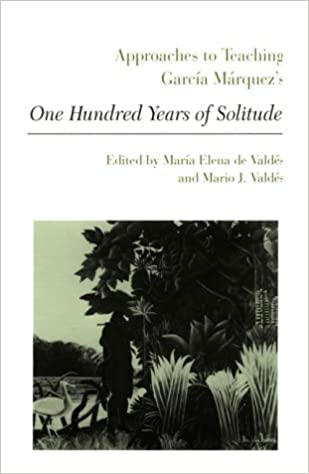 Amazon approaches to teaching garcia marquezs one hundred approaches to teaching garcia marquezs one hundred years of solitude approaches to teaching world literature 1st edition fandeluxe Images