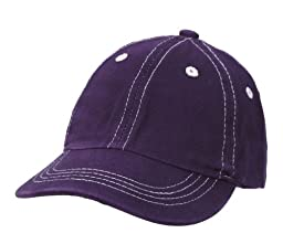City Thread Unisex Baby Solid Baseball Hat - Purple - S(0-6M)