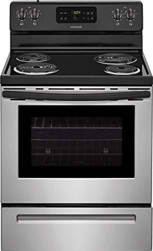 - Frigidaire FFEF3016TS 30 Inch Electric Freestanding Range with 4 Coil Elements, 5.3 cu. ft. Primary Oven Capacity, in Stainless Steel