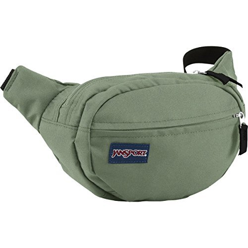 (JanSport Fifth Avenue 2L Lumbar Pack Muted Green, One Size)