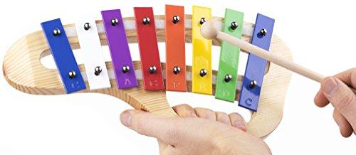 Santagada Music Hand-Held Xylophone Glockenspiel by Santagada Music