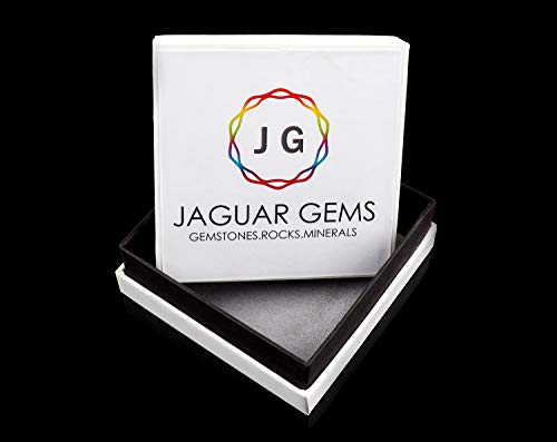 Jaguar Gems 50 Carats Natural Pink Opal and Chaorite Stone, Jewelry Making Supplies, Wire Wrapping Loose Cabochons, Chakra Healing Crystals and Gemstones, Stone for Pendant, Pack of 2 Cabochon